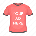 advertising, business, clothes, fashion, graph, marketing, t-shirt icon