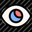 success, vision, eye, lens, look