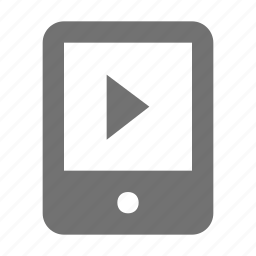 media player, mobile media, mobile video, movie player, video player icon