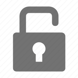 access, open lock, padlock, password, unlock icon