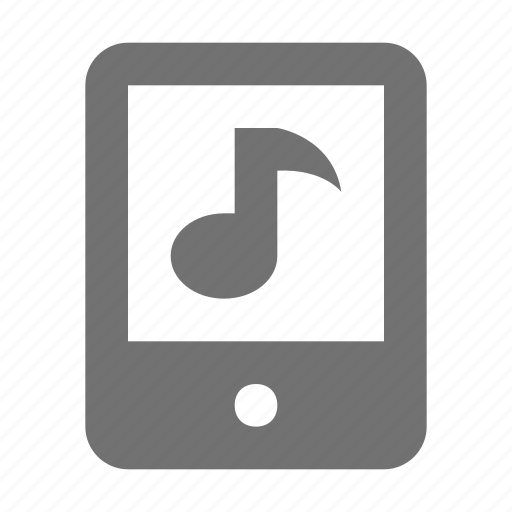 cell phone, mobile, mobile music, mobile playlist, music note icon