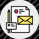 brand, company, identity, letter, presentation, visual icon