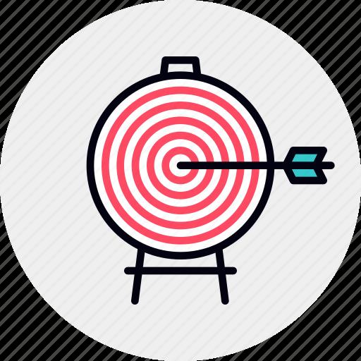 Aim, focus, goal, target, targeting icon - Download on Iconfinder