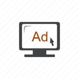 ad, advertisement, advertising, commercial, internet, network, promotion icon