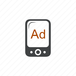 ad, advertisement, advertising, apps, mobile, promo, promotion icon