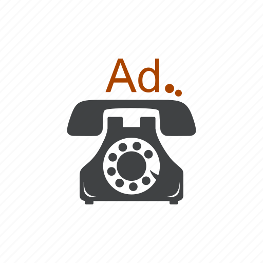 ad, advertisement, advertising, commercial, phone, promo, promotion icon