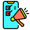 application, computer, device, mobile, monitor, phone, smartphone icon