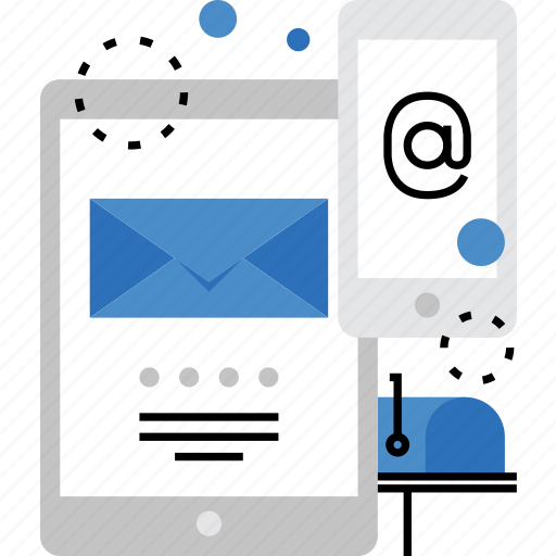 advertising, email, mail, marketing, mobile, spam, subscribe icon