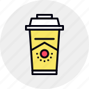 branding, coffee, cup, disposable, mockup, product icon