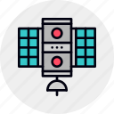 broadcast, broadcasting, radio, satellite, space, transmitter icon