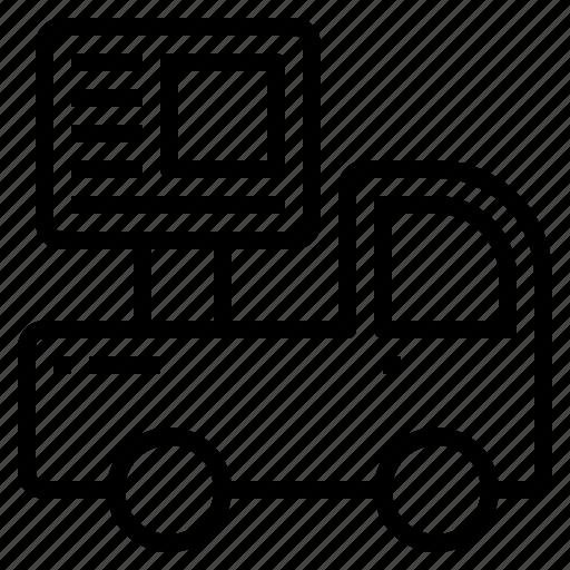 background, business, car, communication, design, digital, marketing icon
