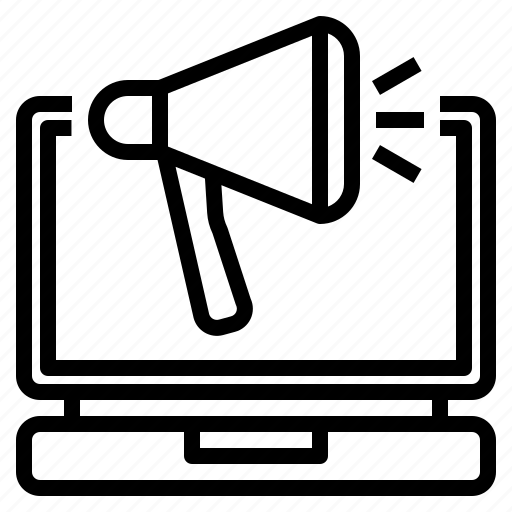 background, business, communication, design, digital, laptop, marketing icon