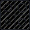 advise, analysis, application, target icon