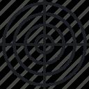advise, analysis, target icon