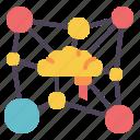 neuromarketing, connection, network, habit, relationship icon