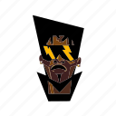 african american, afro punk, afrofuturism, black man, glasses, punk icon