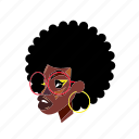 afro, afropunk, blackgirl, fashion, glasses, style icon