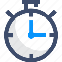 deadline, sprint, stopwatch, timer icon