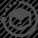 delay, deliverable, late development, problem, product development icon