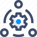 agile, collaboration, management, team, teamwork icon