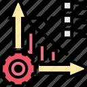 burndown, chart, task, completion, sprint
