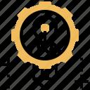 task, developer, agile, project, methodology icon