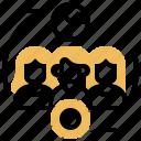 developer, roles, master, scrum, responsibility icon