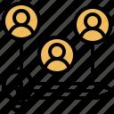 knowledge, team, developer, sharing, resource icon