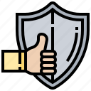 warranty, protection, quality, guarantee, assurance icon