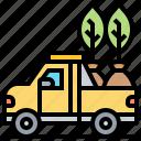 car, cargo, pickup, transport, truck