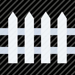 defence, farm, fence, railing, safe icon