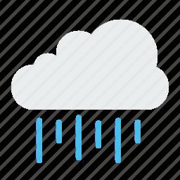 colud, rain, rainy, season, water, weather icon