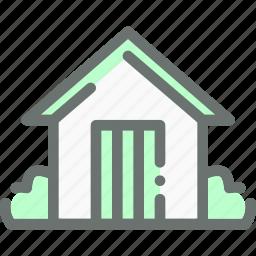 agriculture, barn, farm, garden, house, storage icon