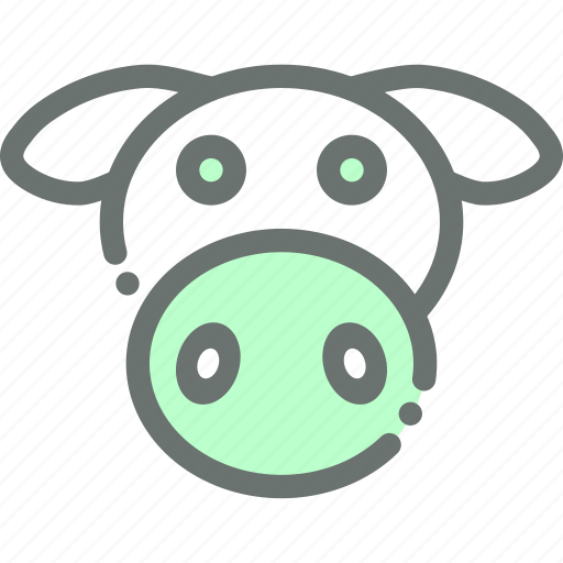cow, dairy, farm, livestock, milk icon