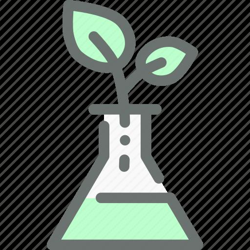 alternate, artificial, dna, gmo, modified, plant, test icon