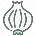 food, onion, seasoning, spice, vegetable icon