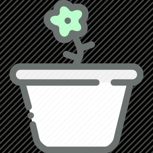 flower, garden, gardening, plant, pot icon
