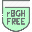 hormone, natural, food, free, organic, rgbh