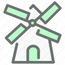 energy, mill, plant, power, turbine, wind, windmill icon