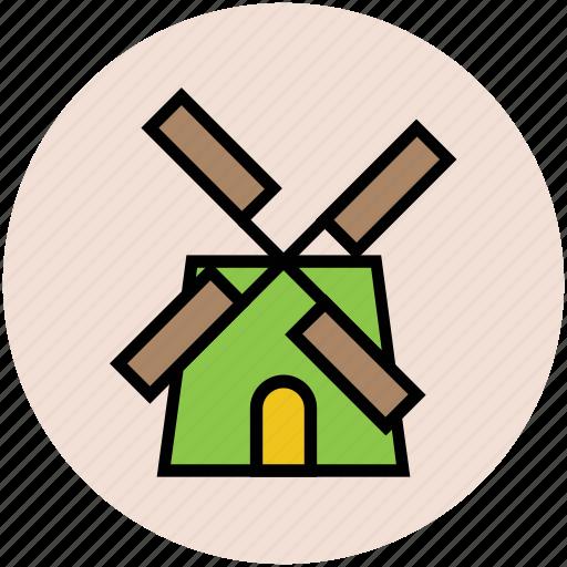 ecology, turbine, wind energy, wind power, windmill icon