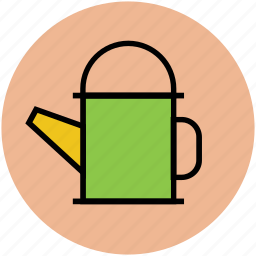garden can, gardening, sprinkling can, watering, watering can icon