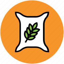 agriculture, grain ear, grain sack, rye sack, sack, wheat sack icon