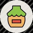 honey jar, jar, jar of jam, liquid bottle icon