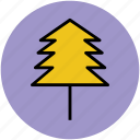 fir tree, forest, greenery, nature, pine tree, tree icon