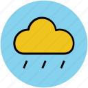 cloud, drops, rain cloud, raindrops, raining, weather icon