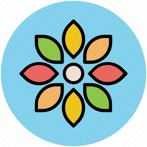 bloom, blossom, flower, petal flower, petals, plants icon