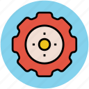 gear, initializing, optimization, setting, wheel icon