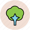 gardening, generic tree, greenery, nature, shrub tree, tree icon