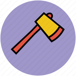 ax, axe, cutting tool, gardening tool, harvest tool icon