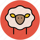 animal, animal face, cattle face, peccary face, pig face icon